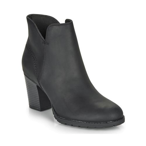 Shoes Women Ankle boots Clarks VERONA TRISH Black