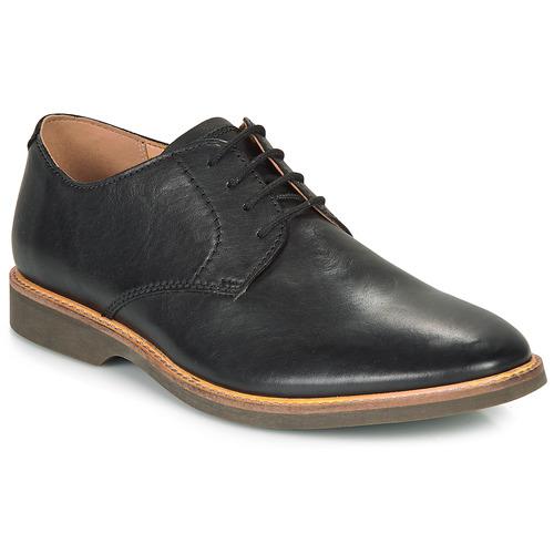Shoes Men Derby Shoes Clarks ATTICUS LACE Black