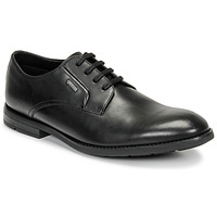 Shoes Men Derby Shoes Clarks RONNIE WALKGTX Black