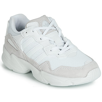 separation shoes ab29f 03543 Shoes Children Low top trainers adidas Originals YUNG-96 C White