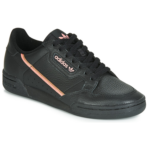 Shoes Women Low top trainers adidas Originals CONTINENTAL 80 W Black