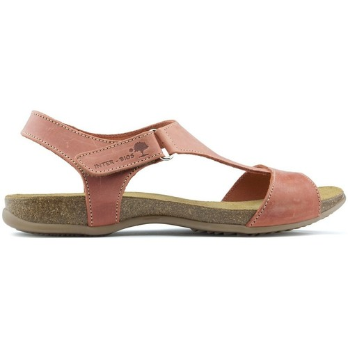 Shoes Women Sandals Interbios INTERMEDIATE ANATOMIC SANDALS 4420 ROOF_TILE
