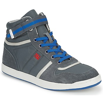 Shoes Women Hi top trainers Dorotennis BASKET NYLON ATTACHE Grey