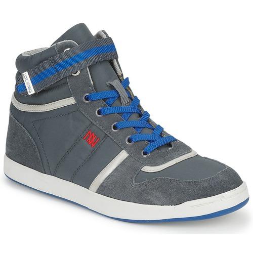 Shoes Women Hi top trainers Dorotennis BASKET NYLON ATTACHE Grey
