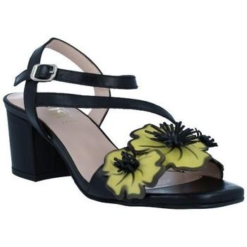 Shoes Women Sandals Dansi 1260 Sandalias con Tacón de Mujer black