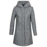 Clothing Women coats Vila VICANIA Grey