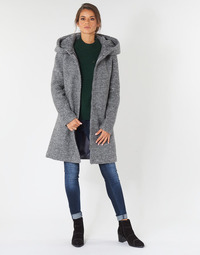 Clothing Women coats Vila VICANIA Grey