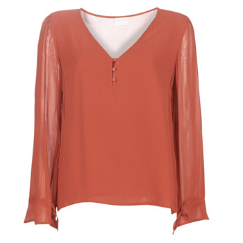 Clothing Women Tops / Blouses Vila VIMOSALY Red