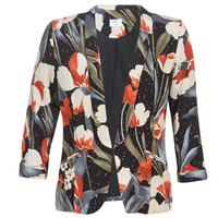 Clothing Women Jackets / Blazers Betty London IOUPA Black / Multicolour