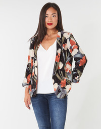 Clothing Women Jackets / Blazers Betty London IOUPA Black / Multicoloured