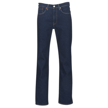 Clothing Men straight jeans Levi's 514 STRAIGHT Chain / Rinse