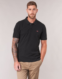 Clothing Men Short-sleeved polo shirts Levi's LEVI'S HOUSEMARK POLO Black