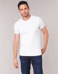 Clothing Men Short-sleeved t-shirts Levi's SLIM 2PK CREWNECK 1 White