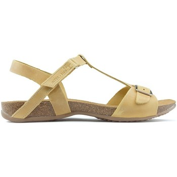 Shoes Women Sandals Interbios SANDALS AFRODITE MUSTARD