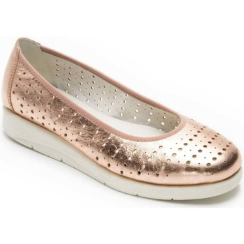Shoes Women Flat shoes Padders Dew Womens Ballet Pumps gold