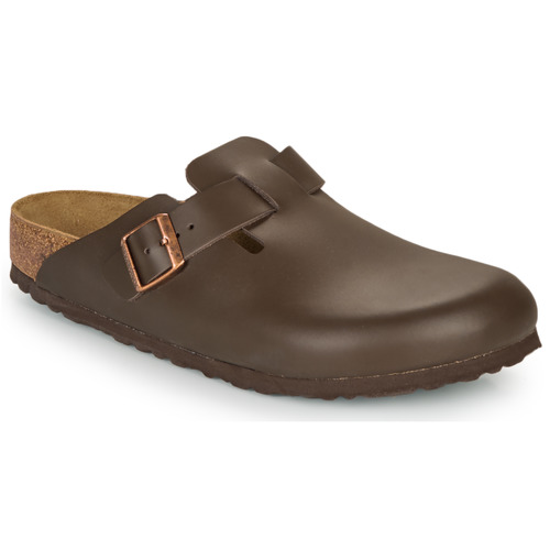 Shoes Men Clogs Birkenstock BOSTON SFB Brown