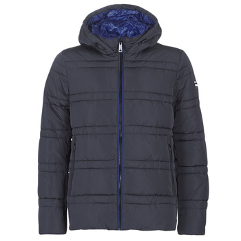 Clothing Men Duffel coats Scotch & Soda CLASSIC HOODED PRIMALOFT JACKET Marine