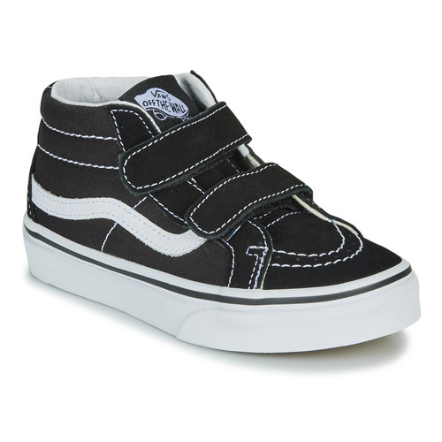 Shoes Children Hi top trainers Vans UY SK8-MID REISSUE V Black / White