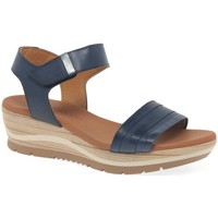 Shoes Women Sandals Paula Urban Bay Womens Wedge Heel Sandals blue