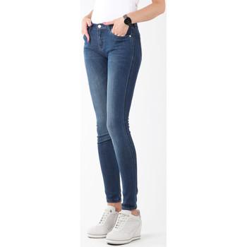 Clothing Women Skinny jeans Wrangler Natural River W29JPV95C granatowy
