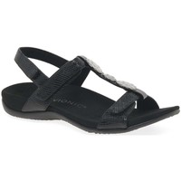Shoes Women Sandals Vionic Farra Womens Patent Casual Sandals black