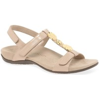 Shoes Women Sandals Vionic Farra Womens Patent Casual Sandals BEIGE