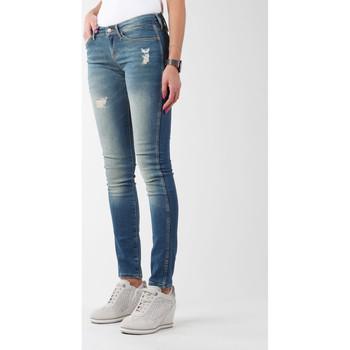 Clothing Women Skinny jeans Wrangler Sandy Blues W23S4072G blue