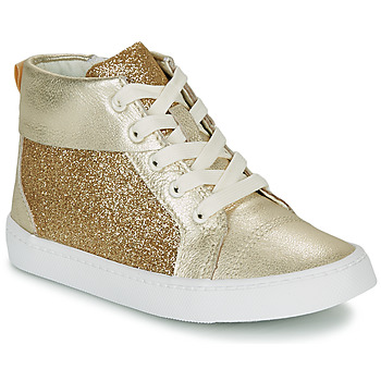 Shoes Girl Hi top trainers Clarks CITY OASISHI K Gold