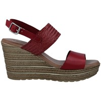 Shoes Women Sandals Calzados Vesga 5047 Sandalias con Cuña de Mujer red