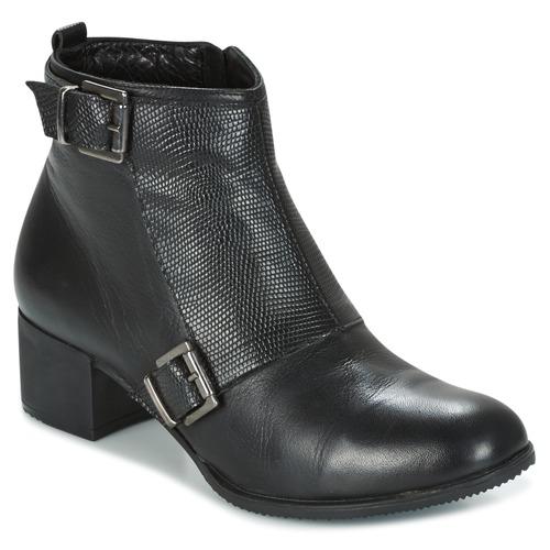 Shoes Women Ankle boots Andrea Conti CASTEL Black