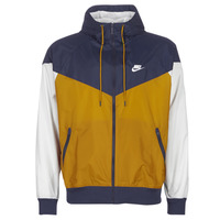Clothing Men Macs Nike M NSW HE WR JKT HD Marine / Gold