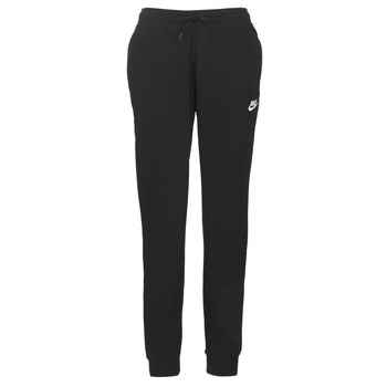 Clothing Women Tracksuit bottoms Nike W NSW ESSNTL PANT REG FLC Black
