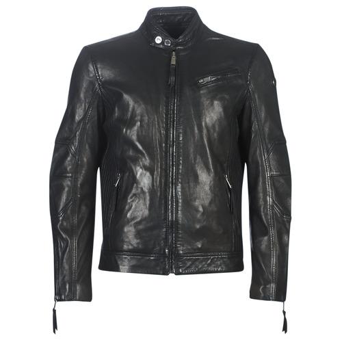 Clothing Men Leather jackets / Imitation leather Redskins TRUST VICTORY Black