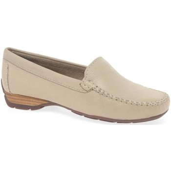 Shoes Women Loafers Charles Clinkard Sun II Womens Moccasins BEIGE