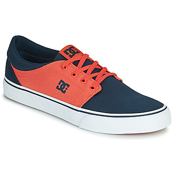 Shoes Men Low top trainers DC Shoes TRASE TX Blue / Orange