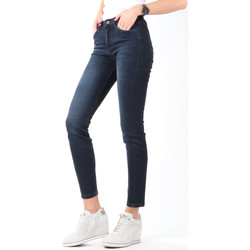 Clothing Women Skinny jeans Lee Scarlett High Crop Skinny Cropped L32BAIFA navy