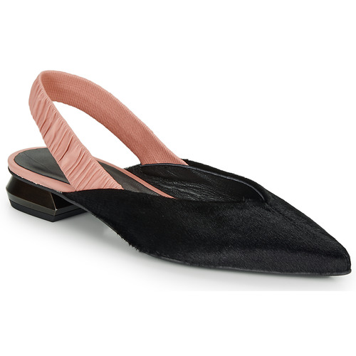 Shoes Women Flat shoes Heimstone SWEDES Black / Pink