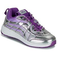 Shoes Girl Wheeled shoes Heelys NITRO Silver / Purple