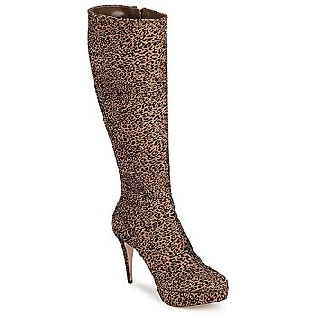 Shoes Women High boots Sebastian FLOC-LEO Leopard