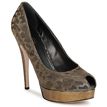 Shoes Women Heels Sebastian TESS Grey / Gold
