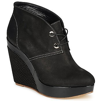 Shoes Women Shoe boots Gaspard Yurkievich C4-VAR8 Black