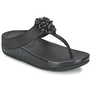 Shoes Women Sandals FitFlop BLOSSOM™ Black