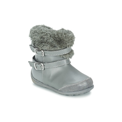 Shoes Girl High boots Chicco GELDA Grey