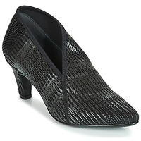 Shoes Women Shoe boots United nude  Black / Silver