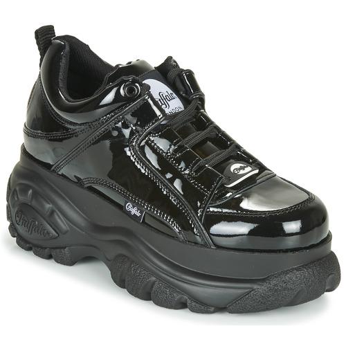 Shoes Women Low top trainers Buffalo 1533043 Black / Varnish