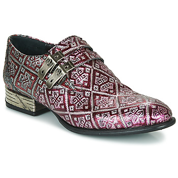 Shoes Men Brogues New Rock M-VIP96002- Red