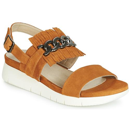 Shoes Women Sandals Dorking 7863 Brown