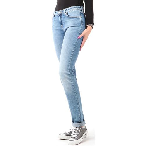 Clothing Women Skinny jeans Wrangler Slim Best Blue W28LX794O blue