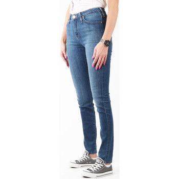 Clothing Women Skinny jeans Lee Scarlett High L626SVMK navy
