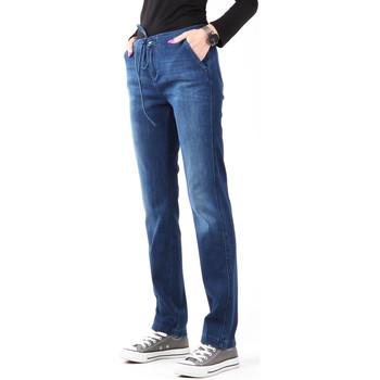 Clothing Women Skinny jeans Wrangler Slouchy Cosy Blue W27CGM82G granatowy